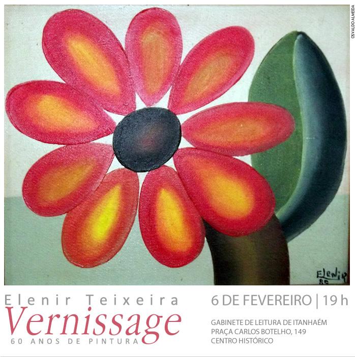 vernissage da pintora Elenir Teixeira